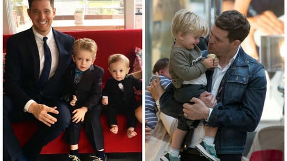 Michael Buble and his wife recently announced that they'll be putting everything on hold while their three-year-old son, Noah, undergoes cancer treatment.