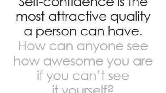 Have you ever wondered how self confident you are?