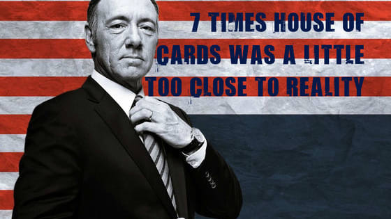 Sometimes Frank Underwood is more fact than fiction. Warning: contains spoilers for all available episodes.