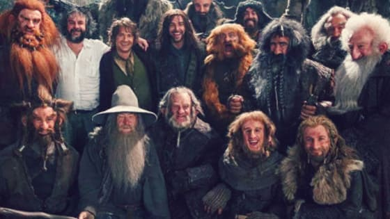 The Hobbit. Can You Name All The Characters In Thorin's Squad?