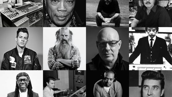 They've produced some of the greatest records in popular music, but how many of these famous record producers do you recognise ? Only real music fans will get 15 out of 15!