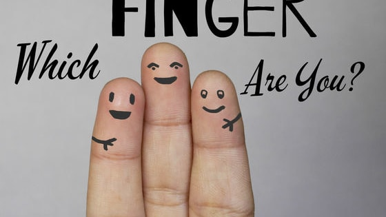 Are you a rebellious middle finger or a committed ring finger? Maybe you're an ambitious thumb? Let's find out which finger you are!