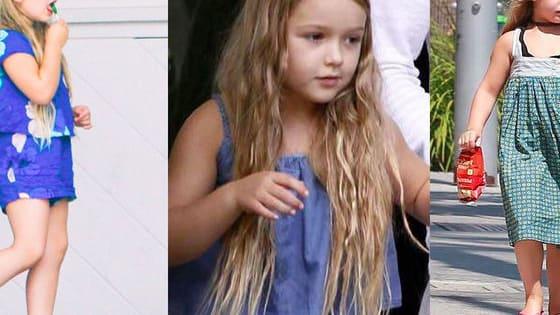 David Beckham & Victoria Beckham's Daughter Harper Beckham - 2016