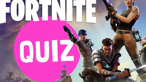 Fortnite is a huge game that's currently taking the world by storm! We thought we'd test your knowledge of it with this super tricky quiz. See how many you can get right...