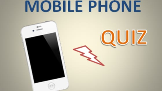 There are some basic but important terms and interesting things related to mobile phones that everyone of us should know. Test your knowledge with this mobile phones quiz!
