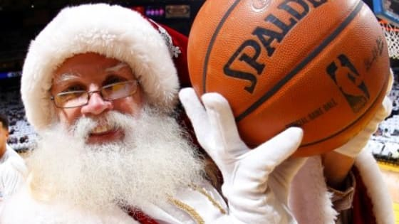 Perhaps the greatest stocking stuffer a sports fan receives each Christmas Day is a slate of NBA games. Since 1947, some of the NBA's greatest players and teams have delivered gifts such as slam dunks, three-pointers, and thrilling endings. To prepare for this year's holiday matchups, enjoy this NBA Christmas quiz.