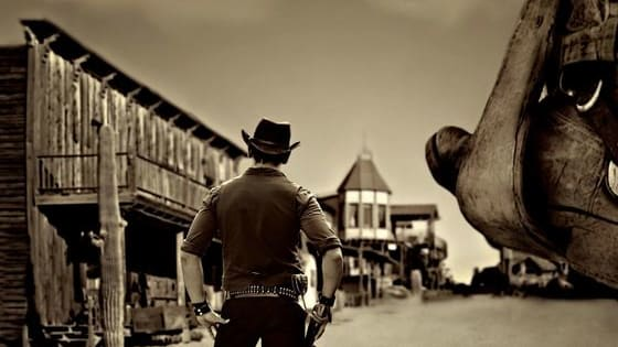 Howdy, pardner! Do you ever imagine yourself in the wild wild west? Who would you be?