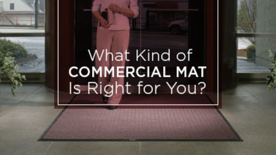 Sometimes choosing a commercial mat may seem overwhelming with various choices. See what mat is right for you with our quiz.