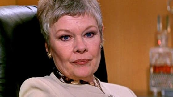 "These clips are some of the best scenes of ""M"", head of MI6, as played by Dame Judi Dench. Going all the way back to Goldeneye, and into the new films."