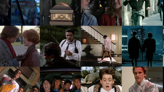 Do you know which song is playing during these famous film sequences?