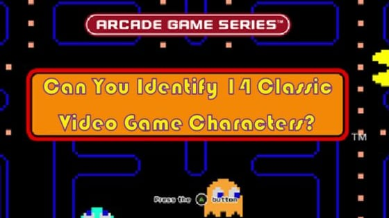 Fancy yourself a gaming expert? See how many of these classic characters you recognise.
