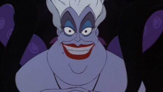 You have been visited by Ursula the Sea Witch. She can grant you your greatest desire, but at the price of one of your senses.