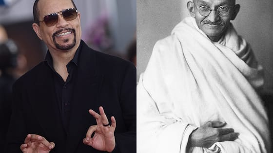 What do Ice-T and Mahatma Gandhi have in common? They are both spiritual leaders with endless pearls of wisdom. Don't miss In Ice Cold Blood hosted by Ice-T premiering April 1 at 7/6 only on Oxygen!