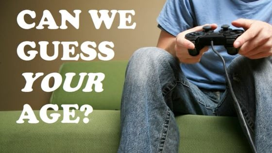 Your gaming habits tell a lot about your age. Wii can help you with this.