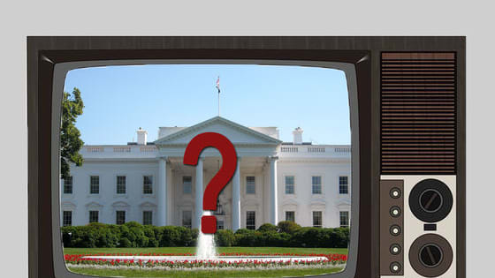 If you could vote for a TV president who would it be?