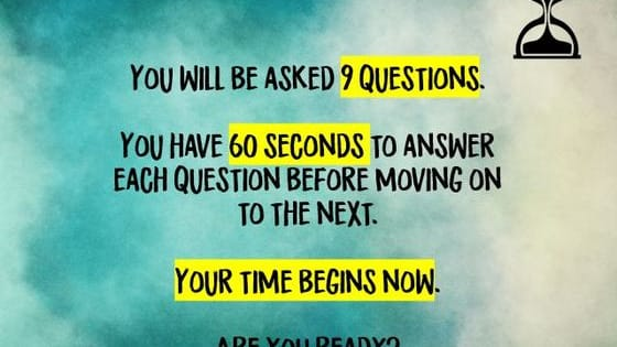 Is time moving faster for you?