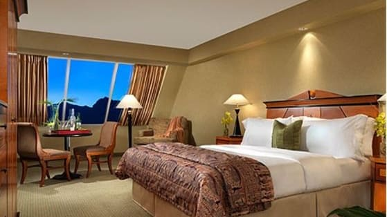 Think you know Vegas? Check out these photos of Las Vegas Hotel Rooms, and see if you can guess where they are!