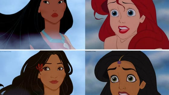 """The talented artists on the Tumblr site """"Let There be Doodles"""" decided to see what some of our favorite characters would look like as different ethnicities, a process called 'racebending.' Flip to see these beautiful changes."""