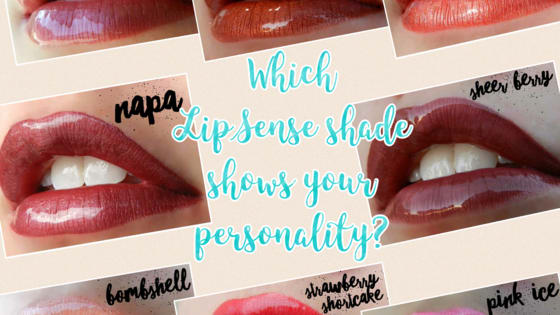 Discover which LipSense shade compliments your personality.