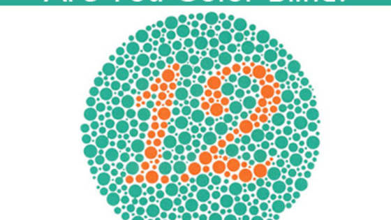 Find the hidden number and check whether you are colour blind or not!