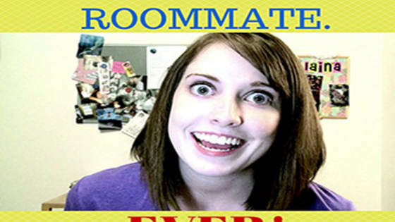 """No matter how young or old you are, there are always certain unspoken rules of how to be a """"good"""" roommate.  Here, we outline the 10 commandments, or unspoken rules, of how to be a good roommate, complete with amusing GIFs."""