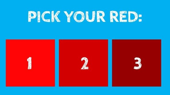 Pick your color now!
