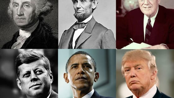 Last year the United States turned 240 years old and elected its 45th president. 2017 will see Democrat Barack Obama hand over his presidential duties to Republican Donald Trump - two different men, two different parties, two very different ideologies.   This pattern has been played out throughout American history, as one man has made way for the next, each bringing his own unique style to the White House.  The question is, which of these presidents are you most like?