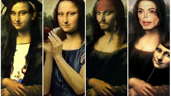 Mona Lisa is considered Leonardo da Vinci's masterpiece. It has been reinterpreted hundreds of times. Can you match Mona Lisa with her celebrity doppelganger? Have fun!!!