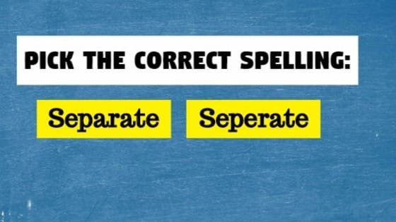 You have to get at least 29/32 correctly in order to get an 'A+' in this spelling quiz.