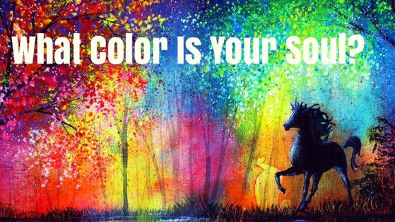 You spirit shines brightly, but what color is it truly?