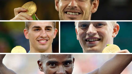 Which of these members of team GB are you inspired by the most? Who do you admire more?