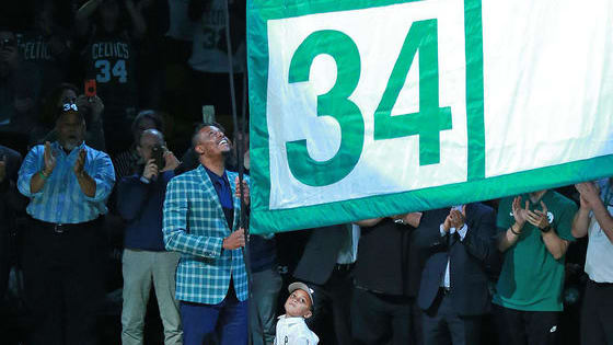 After a long time coming, Pierce's name is finally hanging in the rafters at TD Garden. See if you can ace this quiz!