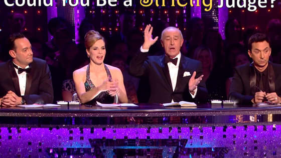 Think you can replace Len Goodman? Try this quiz, darling!