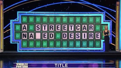 """Kevin was only missing one letter in """"A Streetcar Na_ed Desire,"""" but you need to watch his response for yourself to believe it."""