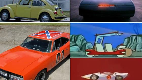 Here are top 10 vehicles made famous from a TV series.