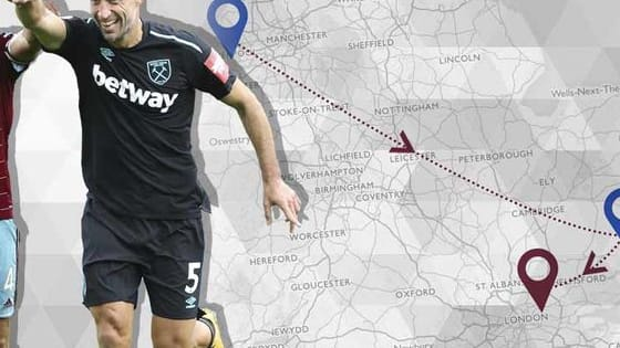 Name the West Ham United player by the Clubs they played for!
