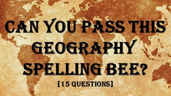 Are you a worldly genius? Play here to find out just how many obscure countries and cities you know how to spell!