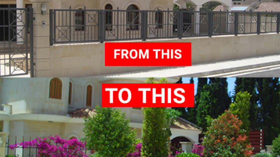 How these houses truly transformed by just... changing their garden!