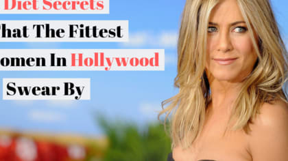Ever wonder how Jennifer Aniston stays slim literally 24/7?
