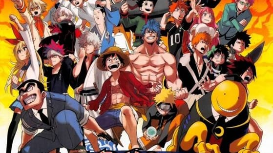 Name the animes from their characters.