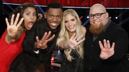 With only four left in play, who will take it all this season on The Voice? Vote now!