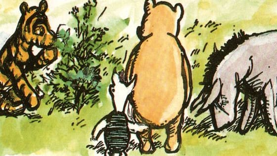 "There are many ""Which Winnie-the-Pooh Character Are You?"" personality quizzes across the internet, but they seem to focus on the Disney characterizations or at least a mix of the two. They are NOT the same thing. Not the same thing a bit. And I had to include House at Pooh Corner since Tigger isn't in the first book, and he informed me we couldn't have a quiz without him. So who are you most like according to Milne's vision of the characters?"
