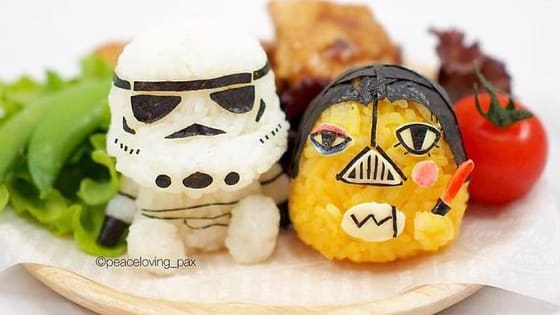 You can't help but smile when you see you're favorite characters in an edible form.