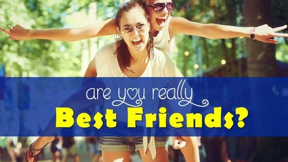 We know you love each other, but are you REALLY soul mates? Share it with your friends and see if they know you too.