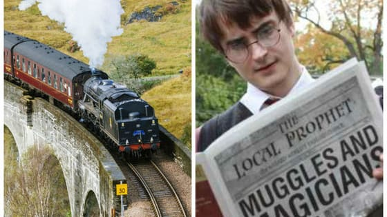 THIS IS NOT A DRILL. THIS FESTIVAL IS MAGICAL. THE HOGWARTS EXPRESS IS REAL.