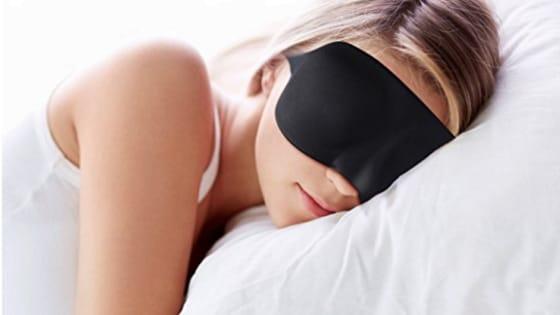 To avoid yet another restless & sleepless night!