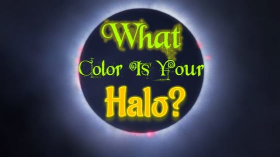 We're all walking around with bright halos, whether we act like angels or not! What color is your halo and what does that say about how others perceive you? Is your halo crimson or indigo? Maybe scarlet? Let's find out!