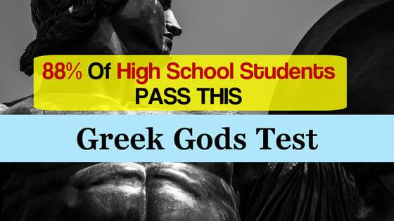 23-Question High School Test.  Go!