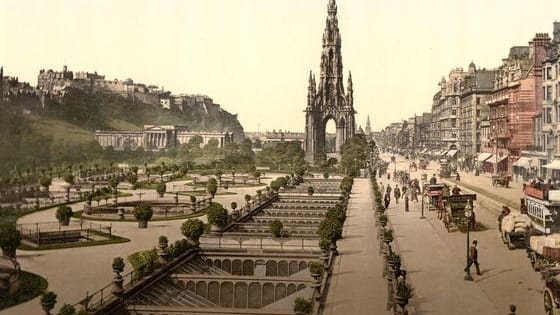 These black and white photos of Scotland, taken between 1890 and 1900, have been colourised, offering a glimpse of 19th century Scotland in colour