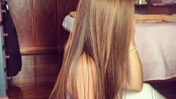 We were all born with straight hair and we had to live with it!
